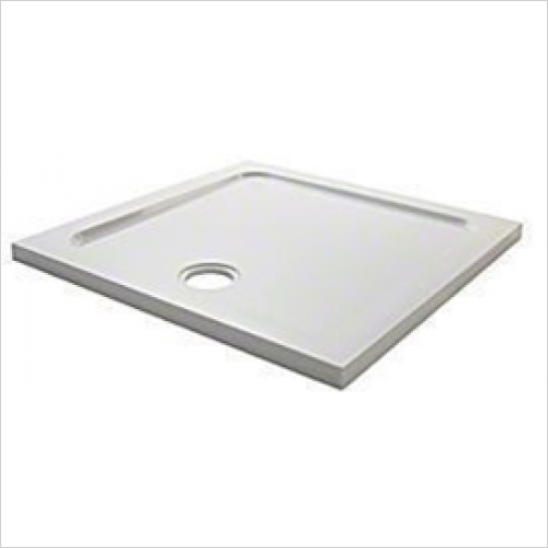 Mira - Flight Low Square Tray 1000mm (0 Upstands)