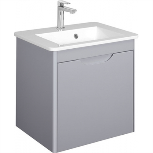 Bauhaus - Solo F Vanity Unit Single Drawer 550mm