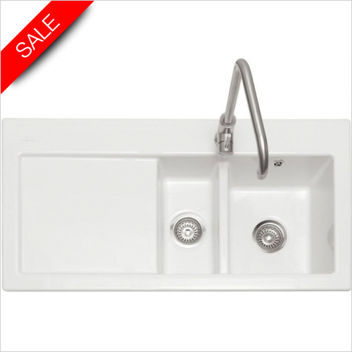 Caple Sinks - Avalon 150 Inset Sink LH