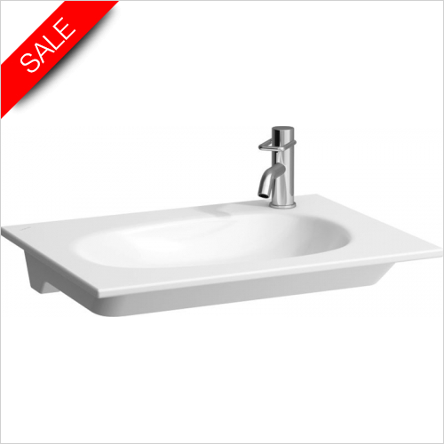 Laufen - Palomba Countertop Washbasin 650 x 480mm 1TH LH
