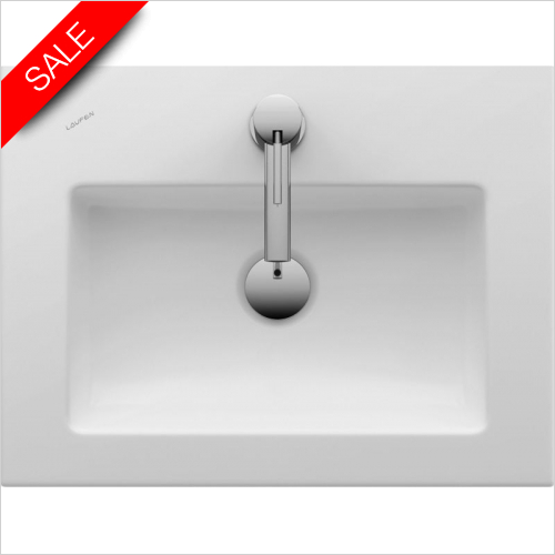 Laufen - Living Square Drop In Washbasin Wall Mounted 500 x 380mm 1TH