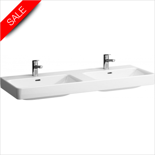 Laufen - Pro S Double Countertop Washbasin 1300 x 460mm 1TH