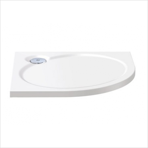 Impey - Designer Slimline Offset Quadrant Tray 1200mm RH