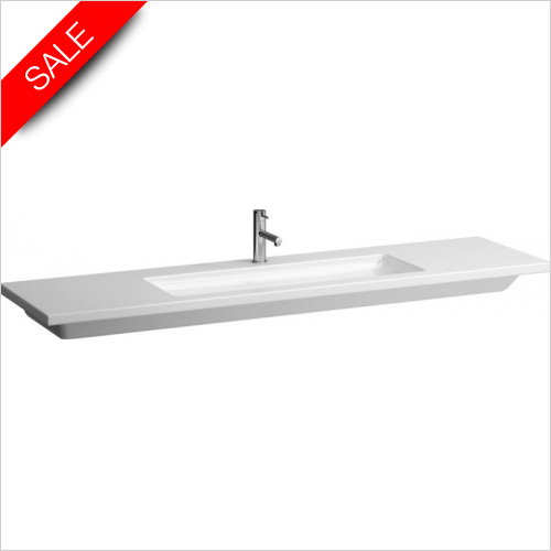 Laufen - Living Square Countertop Washbasin 1300 x 480mm 1TH
