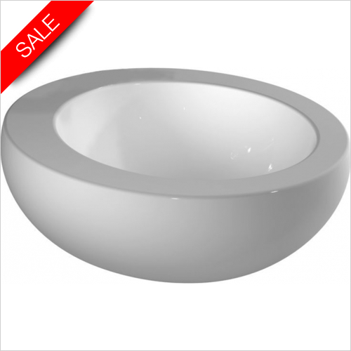 Laufen - Il Bagno Alessi One Washbasin Bowl 520 x 520mm 1TH