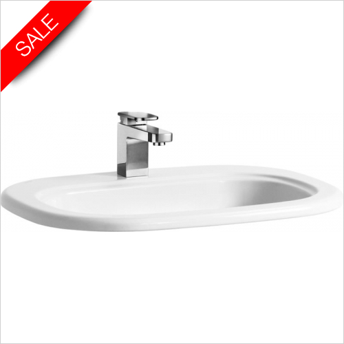 Laufen - Lb3 Design Drop In Washbasin 650 x 490mm 1TH