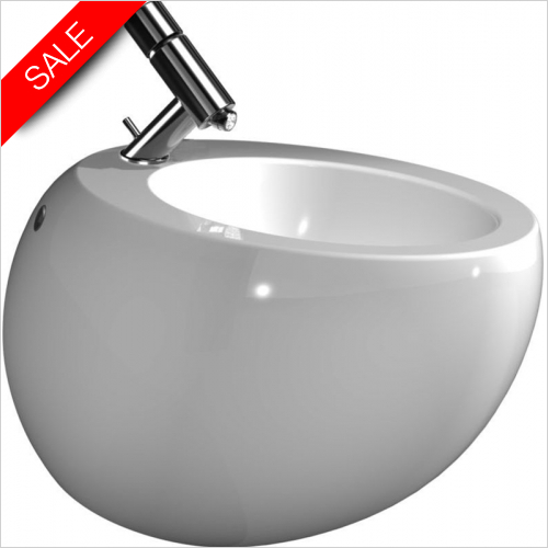 Laufen - Il Bagno Alessi One Wall Hung Bidet 1TH