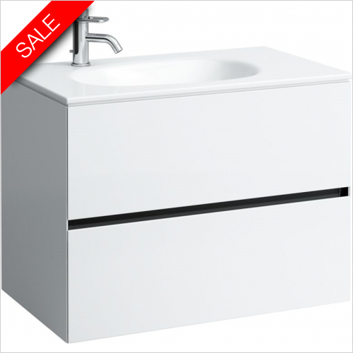 Laufen - Palomba Countertop Washbasin 800 x 480mm 1TH LH