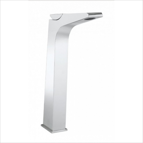 Crosswater - Wedge Tall Basin Monobloc No Pop Up Waste