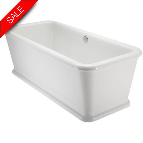 Burlington - London Rectangle Soaking Tub 180 x 85cm
