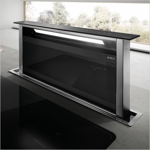 Elica - Andante Downdraft Hood 875mm With Built In Motor