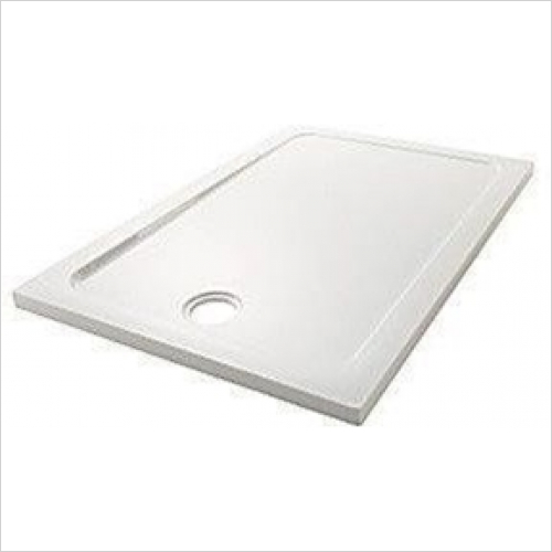 Mira - Flight Low Rectangular Tray 1600x700mm (0 Upstands)