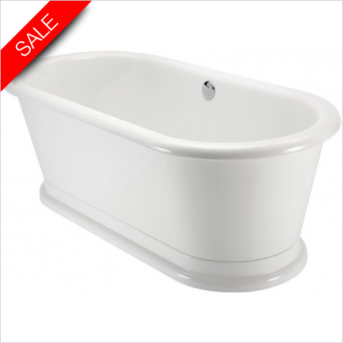 Burlington - London Round Soaking Tub 180 x 85cm