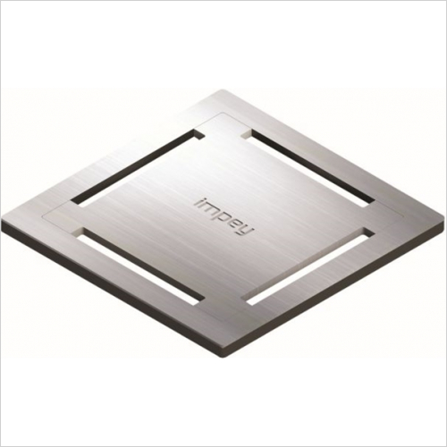 Impey - Stamp Grate With Gully Vertical Outlet