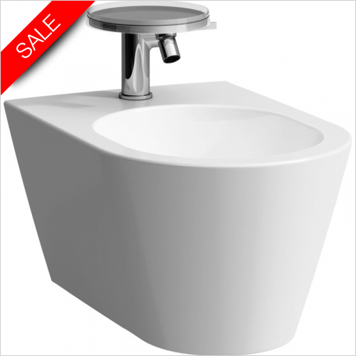 Laufen - Kartell Wall-Hung Bidet 370 x 545 x 430mm 1TH