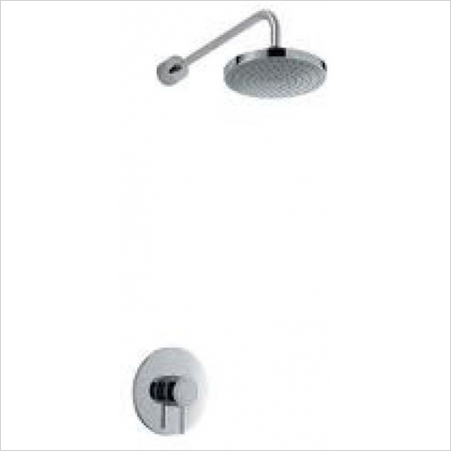Mira - Element BIR Mixer Shower Surface Mounted With Adj Handset