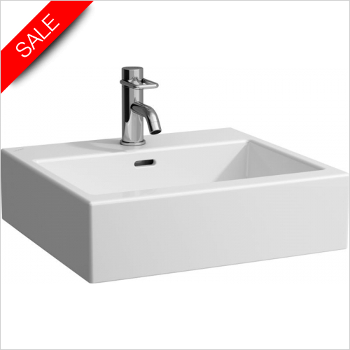 Laufen - Living City Washbasin 500 x 460mm 1TH