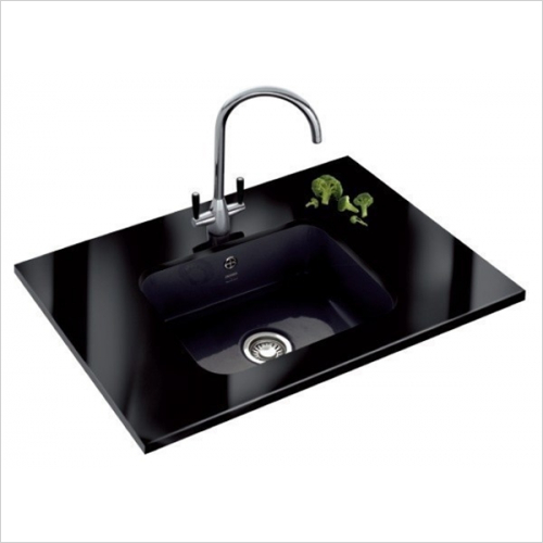 Franke - V&B 1.0 Bowl Ceramic Undermount Sink Designer Pack
