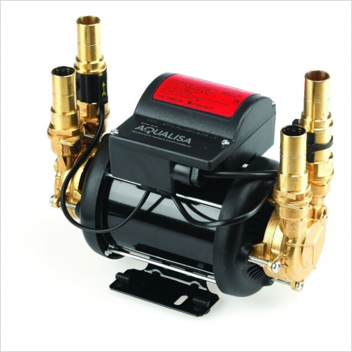 Aqualisa - Mach 3.4 Bar Twin Ended Shower Pump