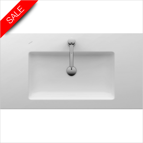 Laufen - Living Square Drop In Washbasin Wall Mounted 900 x 480mm 1TH