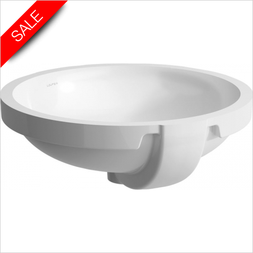 Laufen - Pro Built In Round Basin 420 x 420mm 0TH