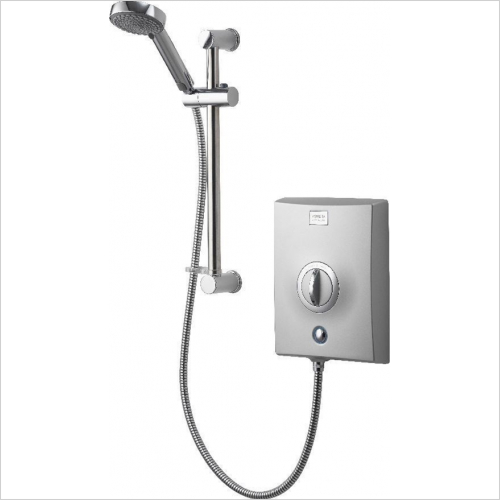 Aqualisa - Quartz Electric 9.5kW With Adjustable Head