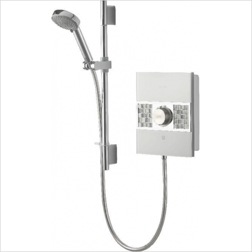 Aqualisa - Sassi Electric Shower 10.5kW With Adjustable Head