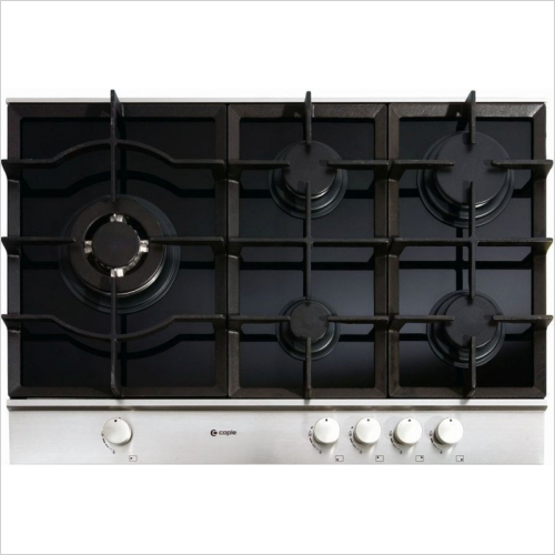 Caple Appliances - Sense Gas On Glass Hob 750mm
