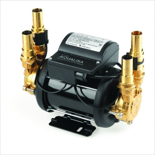 Aqualisa - Mach 2.5 Bar Twin Ended Shower Pump