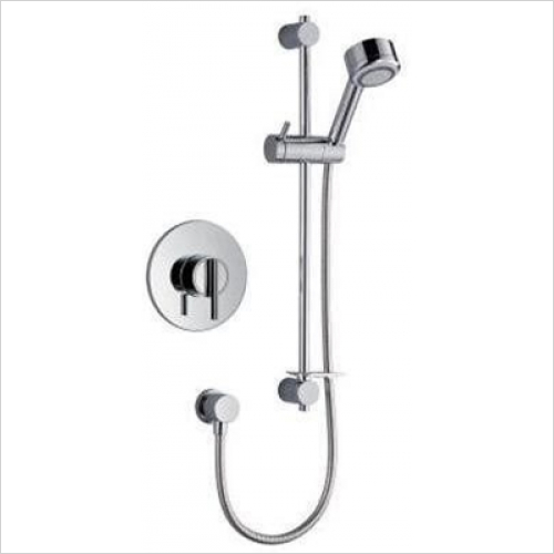 Mira - Silver B-BIV Mixer Shower Built-In With Adjustable Handset