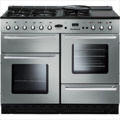 Rangemaster - Toledo 110cm Range Cooker, Natural Gas With FSD