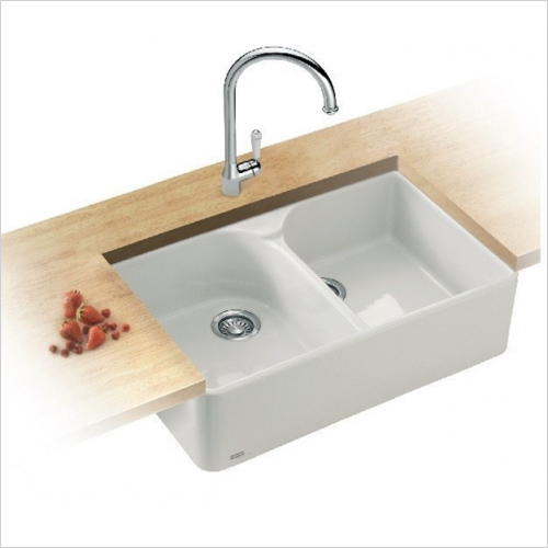 Franke - Belfast 2.0 Bowl Ceramic Sink Designer Pack