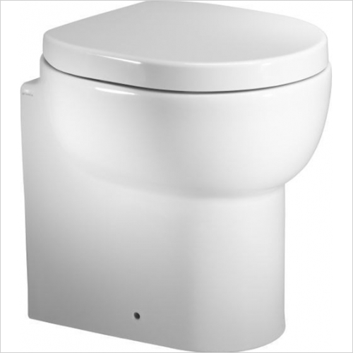 Roper Rhodes - Zest Short Projection 450mm Back to Wall Pan