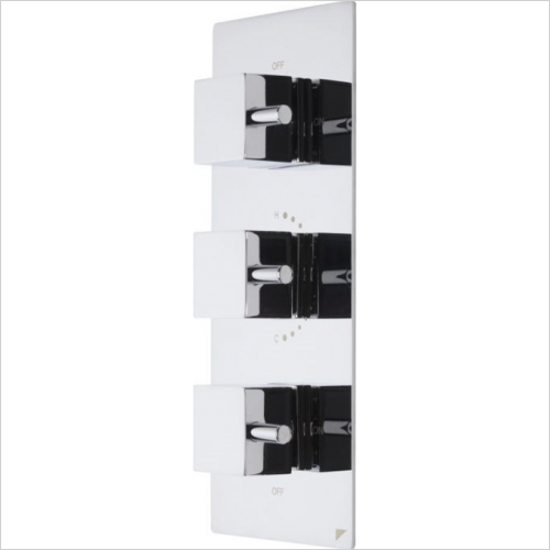 Roper Rhodes - Event Square Triple Control Shower Valve