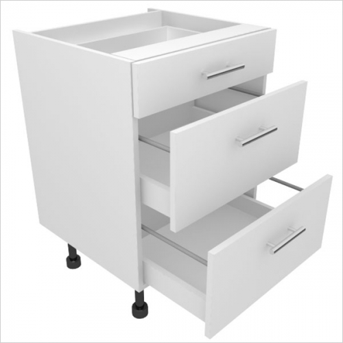 Extras From My Catalogue - 800mm 3 Drawer 1 shallow drawer 2 pan drawers EKO Drawer box