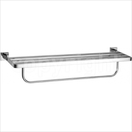 Crosswater - Zeya Towel Rail 2 Tier 600mm