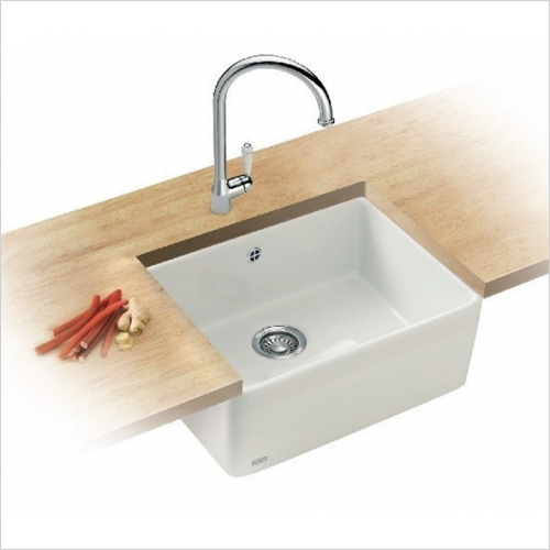 Franke - Belfast 1.0 Bowl Ceramic Sink Designer Pack