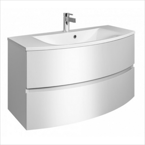 Bauhaus - Svelte 1000mm Vanity Unit