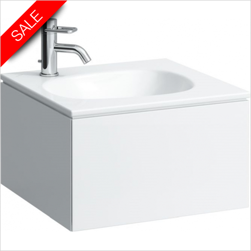 Laufen - Palomba Countertop Washbasin 500 x 440mm 1TH LH