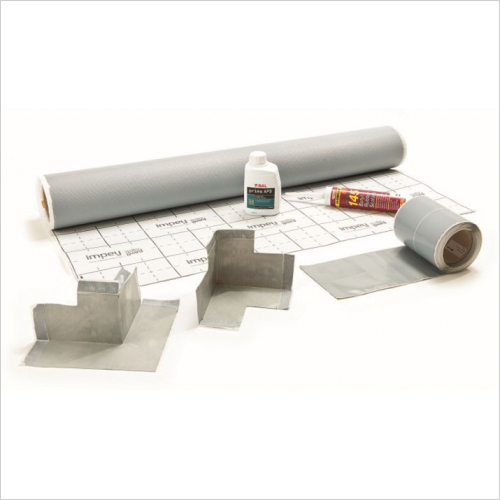 Impey - Waterguard Floor Membrane Kit 10m2