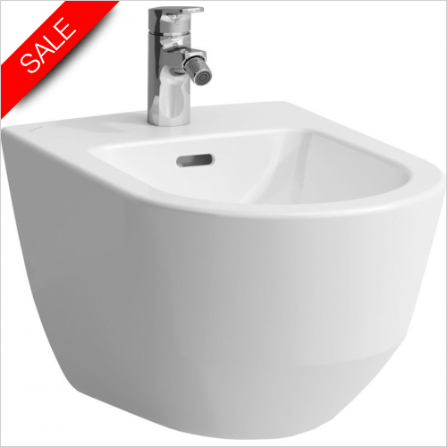 Laufen - Pro Wall Hung Bidet 1TH