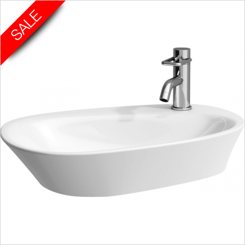 Laufen - Palomba Bowl Washbasin With Tapbank 600 x 400mm 1TH