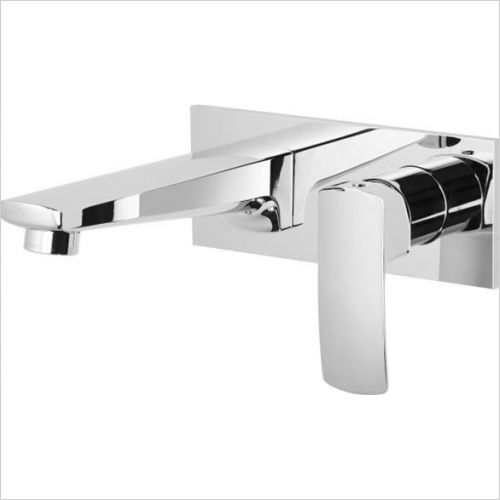 Roper Rhodes - Sync Wall Mounted Basin Mixer Without Pop-Up Waste