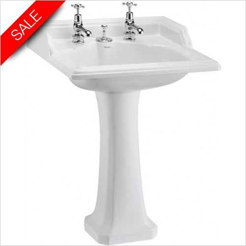 Burlington - Classic Basin 65cm 2TH