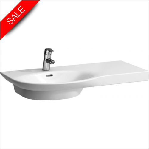 Laufen - Palace Countertop Washbasin 900 x 460mm 1TH Shelf Right