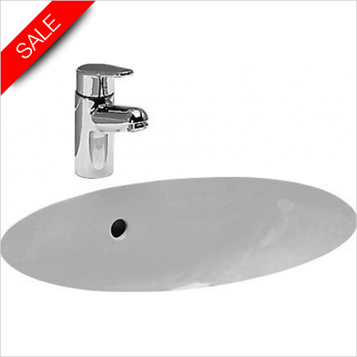 Laufen - Birova Built In Washbasin 530 x 405mm 0TH