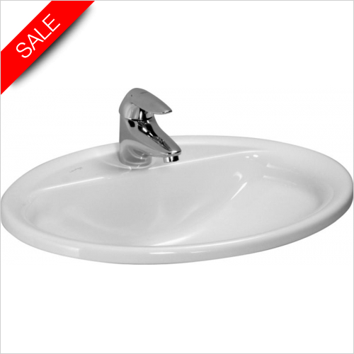 Laufen - Pro B Drop In Washbasin 560 x 440mm 1TH