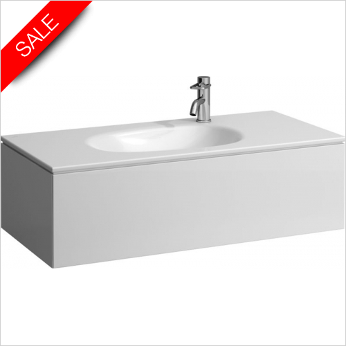 Laufen - Palomba Countertop Washbasin 1000 x 480mm 1TH LH