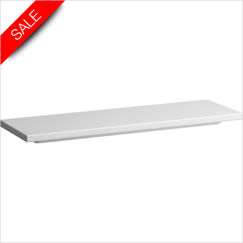 Laufen - Living Square Ceramic Shelf 1200 x 380mm
