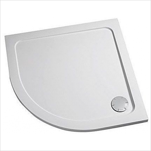 Mira - Flight Low Quadrant Tray 1000mm (0 Upstands)